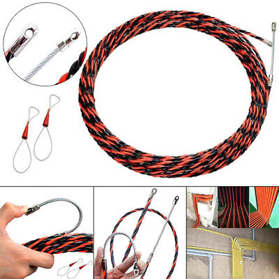 Electrician Wire Threading Device Cable Push Puller Duct Rodder Conduit Aid Lead