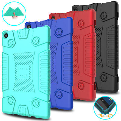 For New Amazon Kindle Fire HD 8 2018 8th Gen Shockproof Soft Silicone Case Cover