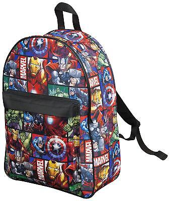 Marvel Avengers Official Backpack Children Boys Girls Adults Comics Schoolbag