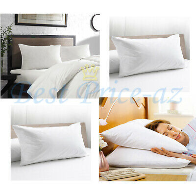 New Warm Soft Luxury Hotel Quality 100% Pure Hungarian Goose Down Quilted Pillow