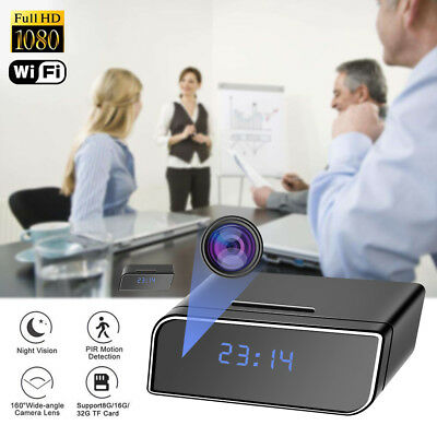 WiFi Full HD 1080P 12MP Wall Charger Mini Spy Motion Hidden Camera Power Adapter