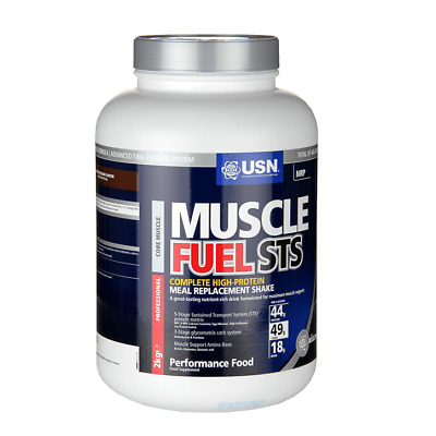 USN Muscle Fuel STS 2kg / 2000g - High Protein Powder Pure Health
