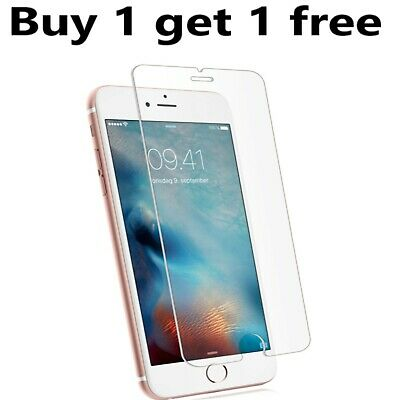 For Apple iPhone 7 Plus 9H Tempered Glass Film Screen Protector 100% Genuine UK