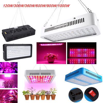 600W 900W 1000W LED Grow Light Full Spectrum Lamp for Greenhouse Indoor Plants A