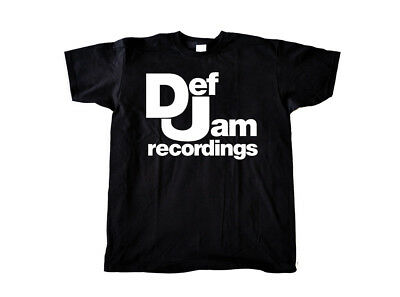 DEF JAM Recordings T-shirt - Beastie Boys Run DMC Hip Hop Rap Vinyl Not ps xbox