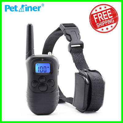 Petrainer 998DR-1 300M Dog Training Shock Collar+LCD Electric Remote Waterproof