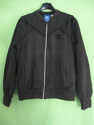 VESTE ADIDAS ORIGINALS Noire Jacket Homme style vintage survetement S