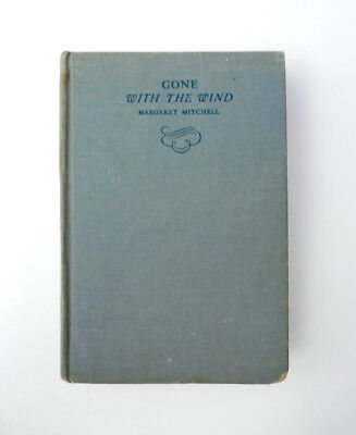 2nd year RARE 1938 Edition GONE WITH THE WIND By MARGARET MITCHELL VG