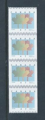 Canada #1878 Domestic First-Class Rate Coil Strip of 4 MNH ** Free Shipping **