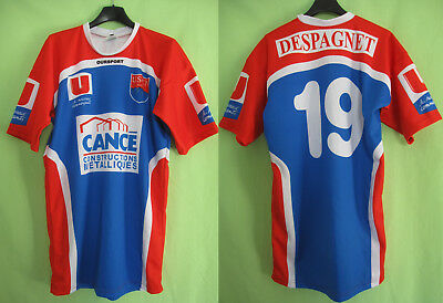 Maillot rugby US Coarraze Nay USCN porté #19 Cance Oursport - XL