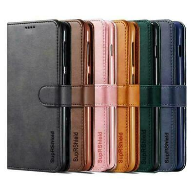 Wallet Leather Card Holder Flip PU Gel Case Cover For Telstra Essential Plus