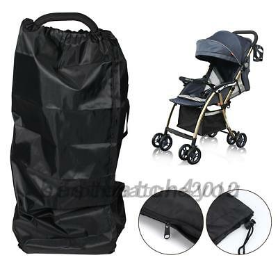 Gate Check Pram Travel Bag Umbrella Buggy/Pushchair Waterproof Cover AU