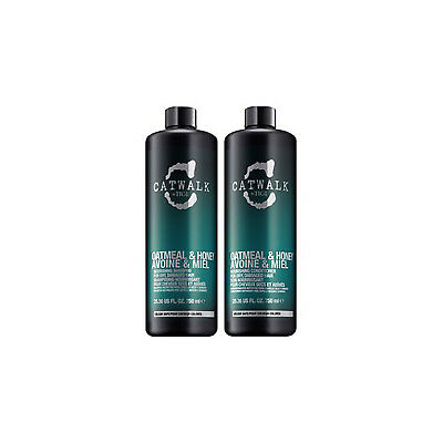 Tigi Catwalk Oatmeal & Honey Shampoo & Conditioner 25.36 Oz Combo Pack