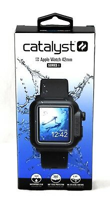 Catalyst - Case for Apple Watch 42mm Series 1 - Black - 3330sw