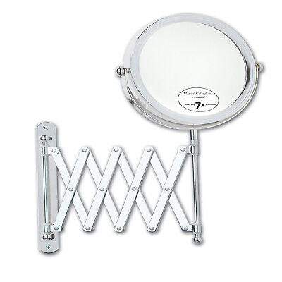 Jerome Alexander 7X, 6 in. Chrome Extensible Mirror