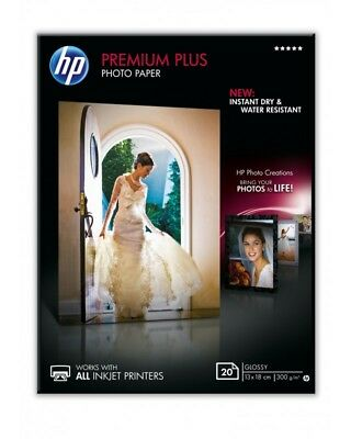 HP Premium Plus Photo Paper Fotopapier glänzend 130 x 180 mm (CR676A)