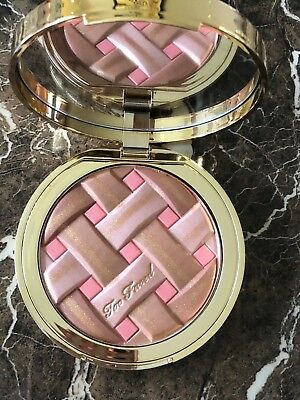 Too Faced Sweetie Pie Bronzer  ~ Infused With Peach ~ Nib ~ Free Fast Shipping!!