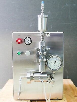 AVESTIN EmulsiFlex-C3 High Pressure Homogenizer w Transformer 2000 bar (5913)