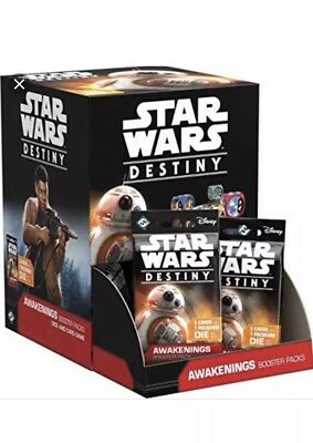 Star Wars Destiny Spirit of the Rebellion Booster Box 36 packs Sealed New AUC66