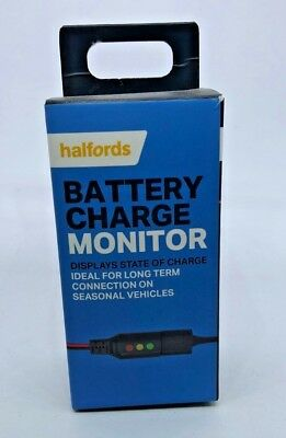 Halfords Car Battery Charge Level Monitor