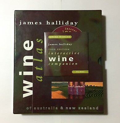 Wine Atlas Of Australia & New Zealand - Book HarperCollins1998 - James Halliday