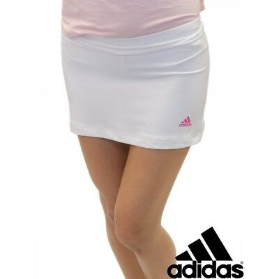 Girls Adidas Tennis White Barricade Skort Age 16 RRP £28.99