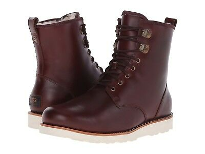 407dbcb08c7 NEW UGG MEN Boot Hannen Tl Cordovan Leather Rated 20°C Water Resistant 8142