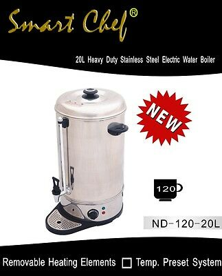 New 120cups(20L) Stainless Steel Commercial Water Boiler