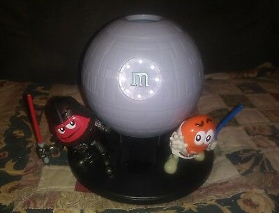 M&Ms Star Wars candy dispenser Death Star Darth Vader Luke Skywalker Empire