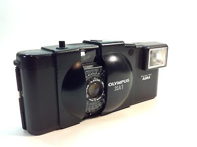 OLYMPUS XA1 35mm f4 Lens + Flash  Excellent Condition Working