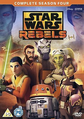 Star Wars Rebels: Complete Season 4 (Box Set) [DVD]