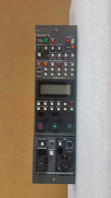 Sony RCP-3720 Remote Control Panel for BVP Cameras
