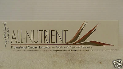 ALL NUTRIENT PROFESSIONAL Cream Hair Color w/ Botanical Extracts