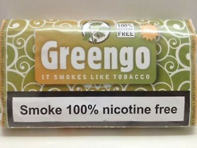 GENUINE GREENGO HERBAL SMOKING MIXTURE 30g 100% NICOTINE & TOBACCO FREE
