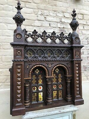 SALE!! A Top Quality French Gothic Altar Church Piece