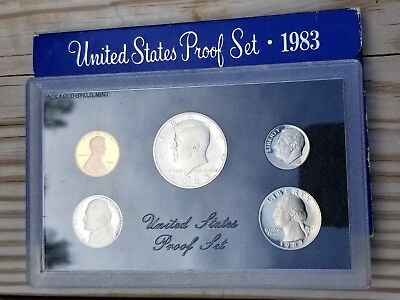 1983-s  U.S.Mint Proof set. Genuine. complete and original as issued by US Mint.