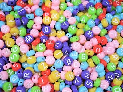 Beads 8mm Round Pastel Mix 25g Spacer Jewellery Necklace Bracelet FREE POSTAGE