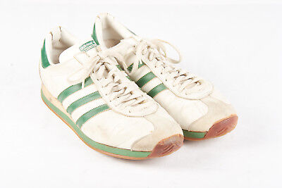 VINTAGE MENS ADIDAS Country Sneakers Sz 11 70s 80s Made In
