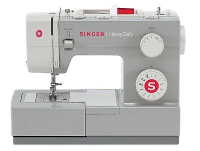 SINGER 4411 Heavy Duty Sewing Machine with 11 Built-in Stitches, Metal Frame and