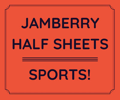 Jamberry Half Sheets - Sports Teams - NBA, NCAA, NFL