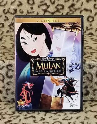 Mulan Dvd 2004 Special Edition 2 Disc Set Disney Children's Animated Movie
