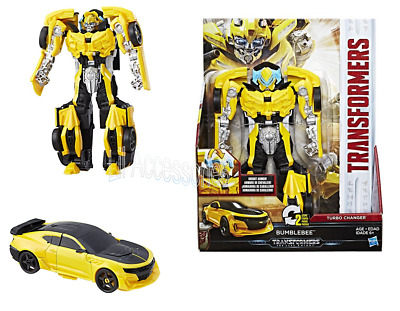 Transformers – The Last Knight Armor Turbo Changer Bumblebee