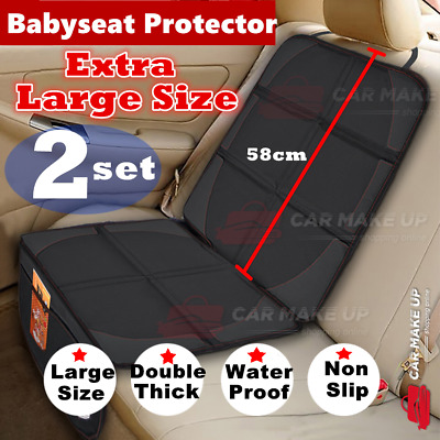 2x Large size Car Baby Seat Protector Cover Cushion Anti-Slip Waterproof Safety