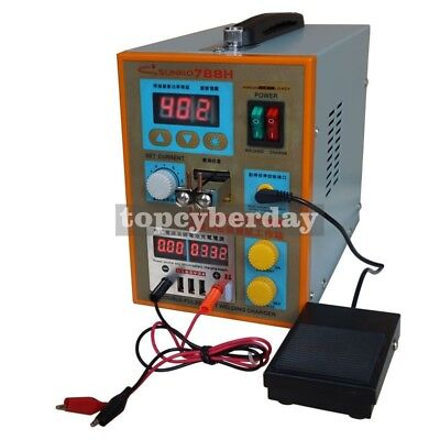 SUNKKO 788H-USB 18650 Battery Pulse Spot Welder + CC-CV Charge + Power Bank Test