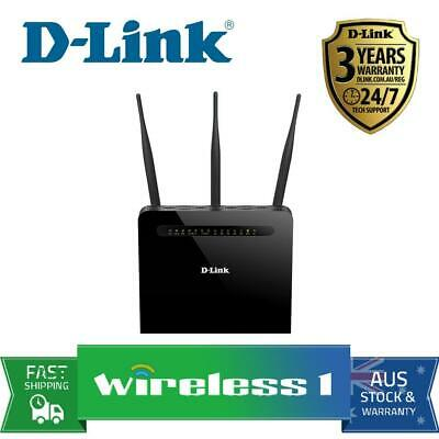 All NEW D-Link DVA-2800 Dual Band Wireless AC1600 ADSL2+/VDSL2 Modem Router with