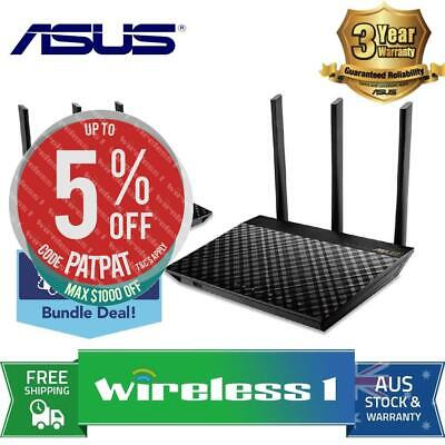 All NEW Asus RT-AC67U AiMesh AC1900 Whole Home WiFi System Twin Pack