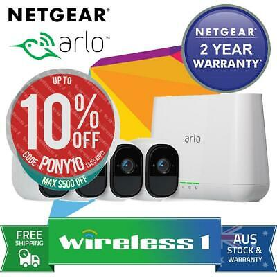 All NEW Netgear VMS4430 Arlo Pro Smart Security System with 4 Cameras