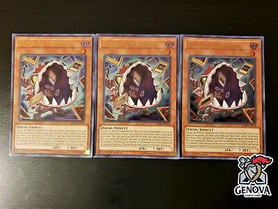 x3 Yu-Gi-Oh! Eater Of Millions BLRR-EN078 Ultra Rare 1st Edition NM