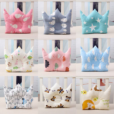 Infant Baby Pillow Prevent Flat Head Soft Cushion Sleeping Support Kids Gift UK