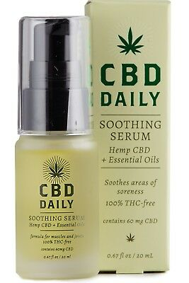 Earthly Body Daily Soothing Serum Treatment .67 oz/20 ml